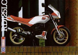 Yamaha RD125LC (1985-86)
