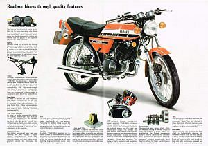 Yamaha RD200 (1976)