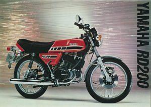 Yamaha RD200 (1977-78)
