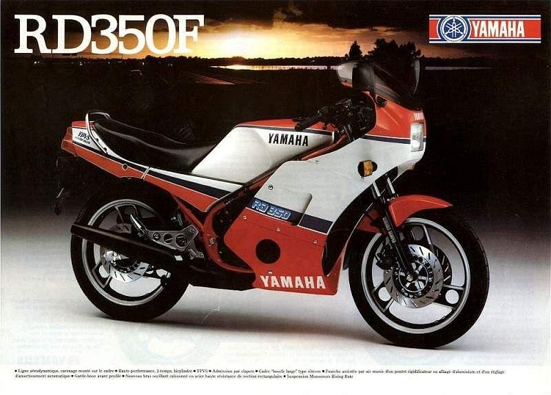 Yamaha RD350R (1985)
