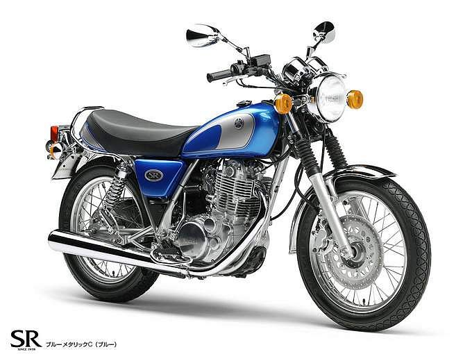 Yamaha SR400 (2012-13)
