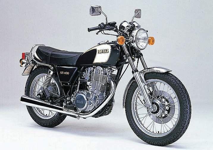 Yamaha SR400SP (1983-87)