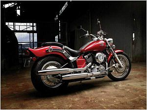 Yamaha V Star 650 Custom (2008-09)
