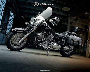 Yamaha V Star 650 Silverado (2011-12)