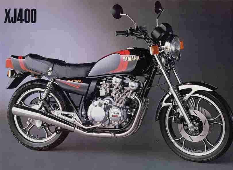 Yamaha xj400 (1980-81)