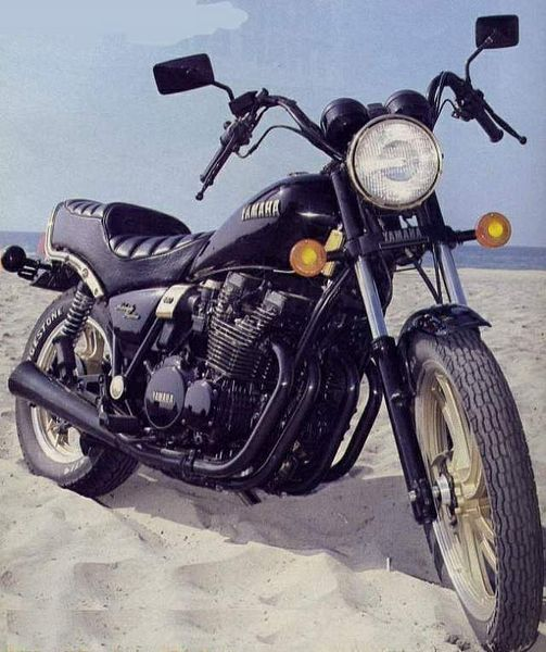 Yamaha XJ650 Midnight Maxim (1981)