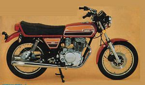 Yamaha xs400 (1976-77)