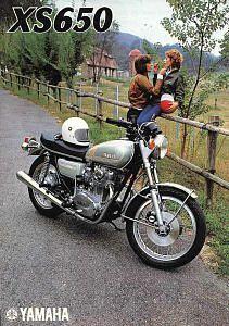 Yamaha xs650 (1976)