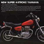 Yamaha XS 650 SE (1980-81)