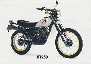 Yamaha XT250 (1981-82)