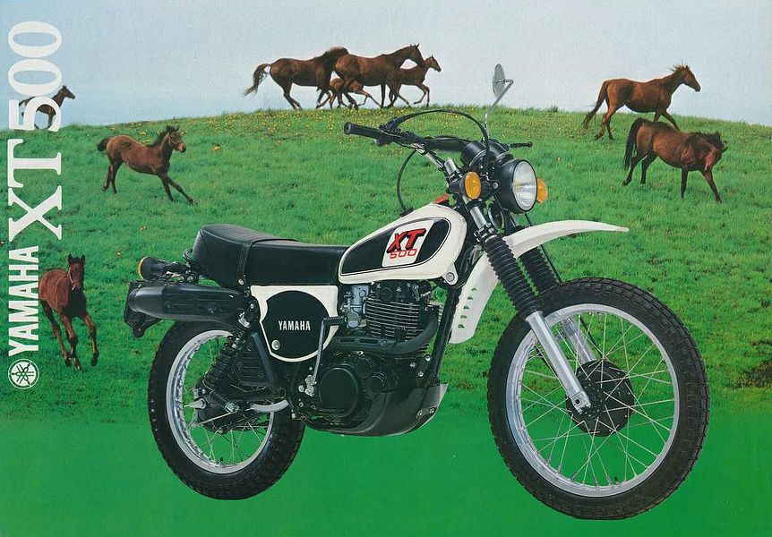 Phenomenal Yamaha Xt 500 1979 Motorcyclespecifications Com Dailytribune Chair Design For Home Dailytribuneorg