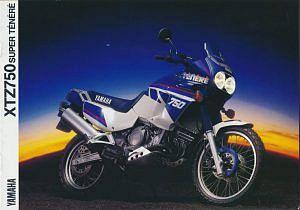 Yamaha XT750 Super Tenere (1989)