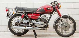 Yamaha YDS7 (1972)