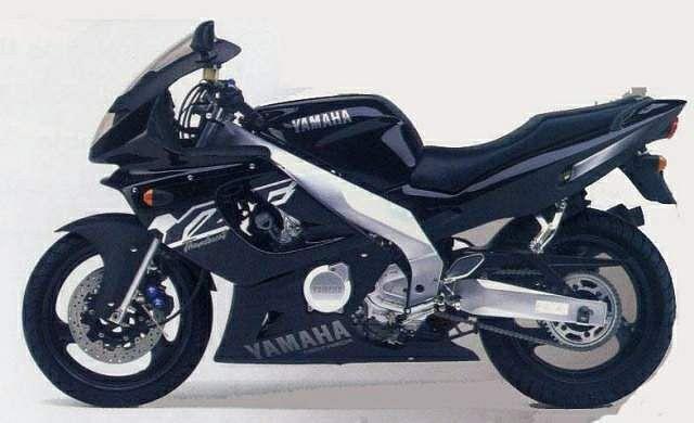 Yamaha YZF 600 R Thunder cat (1998)