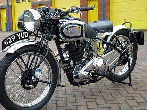 AJS Silver Streak 500 (1938)