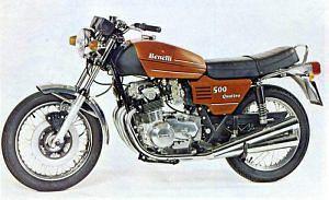 Benelli 500 Quattro (1976)