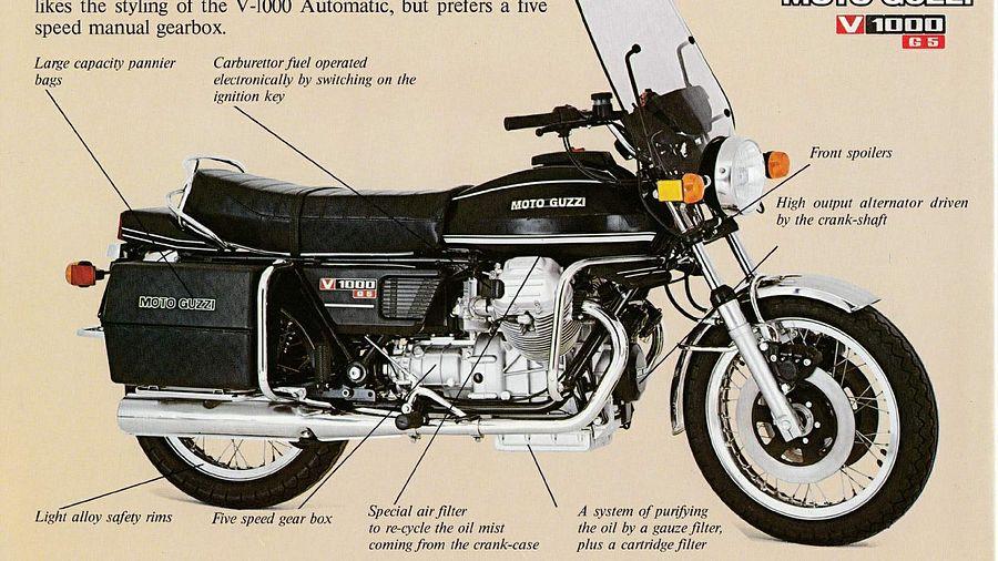 Moto Guzzi V 1000G5 (1981-85)