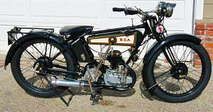 BSA B de Luxe (1927)