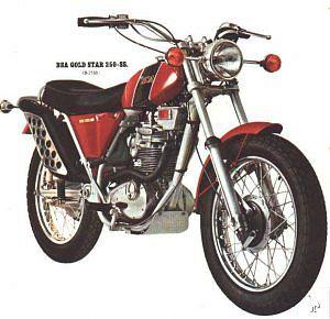 BSA B25 (1968-70)