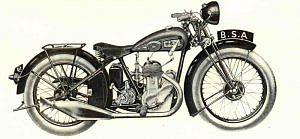 BSA B3 de Luxe (1936)