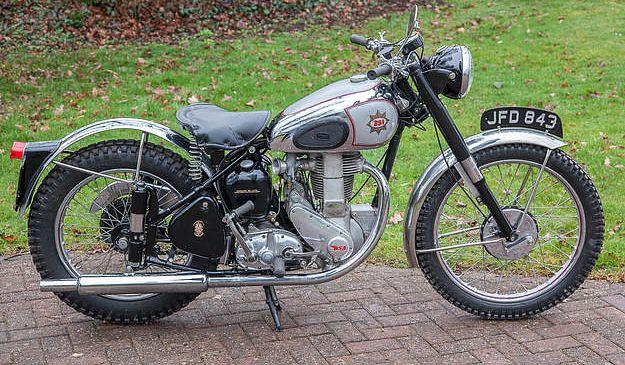 BSA B32 (1949)