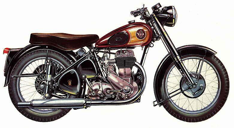 BSA M20 (1955-61)