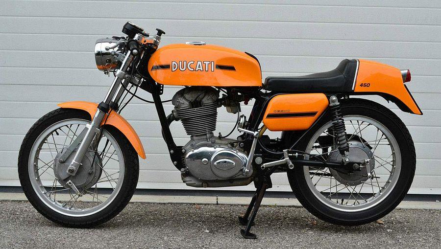 Ducati 450 Desmo (1970-72)