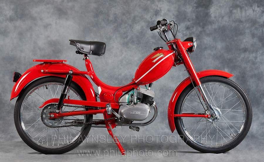 Ducati 48/1 & 50/1 Brisk (48/1:1961-6650/1:1967)