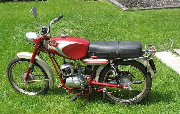 Ducati 90 Cadet / Cacciatore / Mountaineer (1964)