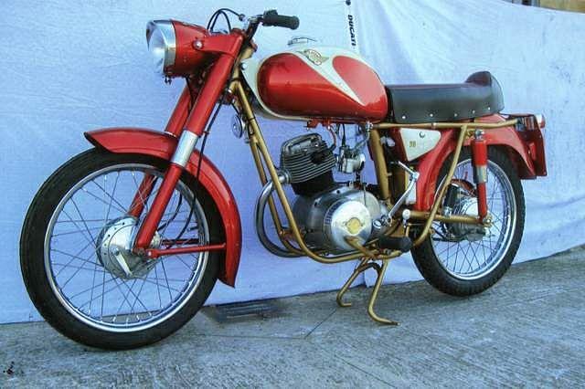 Ducati 98 Bronco / Cavallino (1959-63)