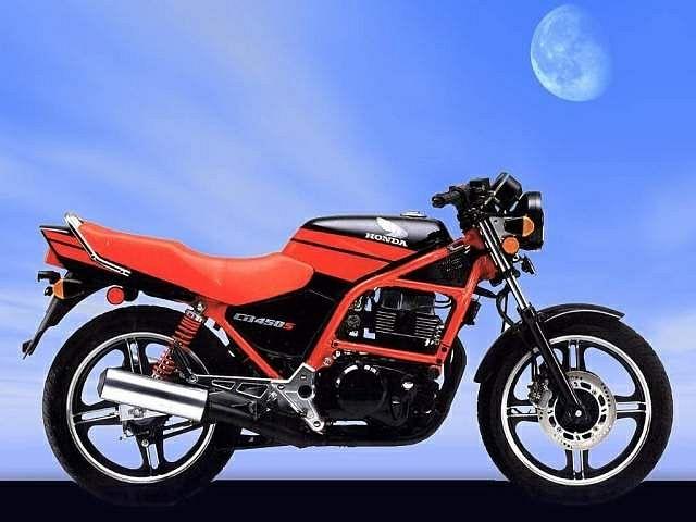 Honda CB450S (1987)