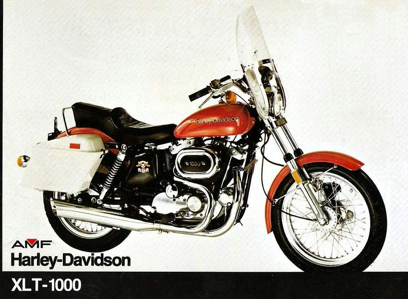 Harley Davidson Xlt 1000 Touring