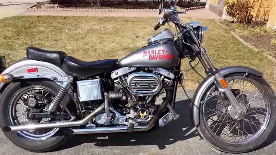 Harley Davidson FLH 1200 Super Glide (1970-71)