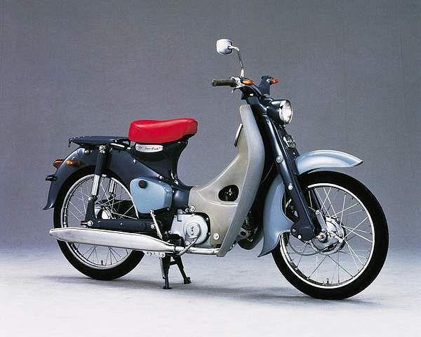Honda C100 Cub (1958-67)