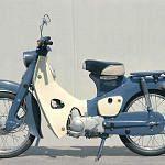 Honda C102 Cub (1960-65)
