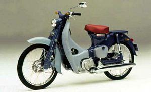 Honda C150 Cub (2007)