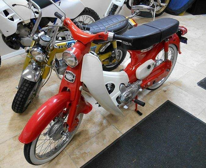 Honda C150 Cub (1966-80)