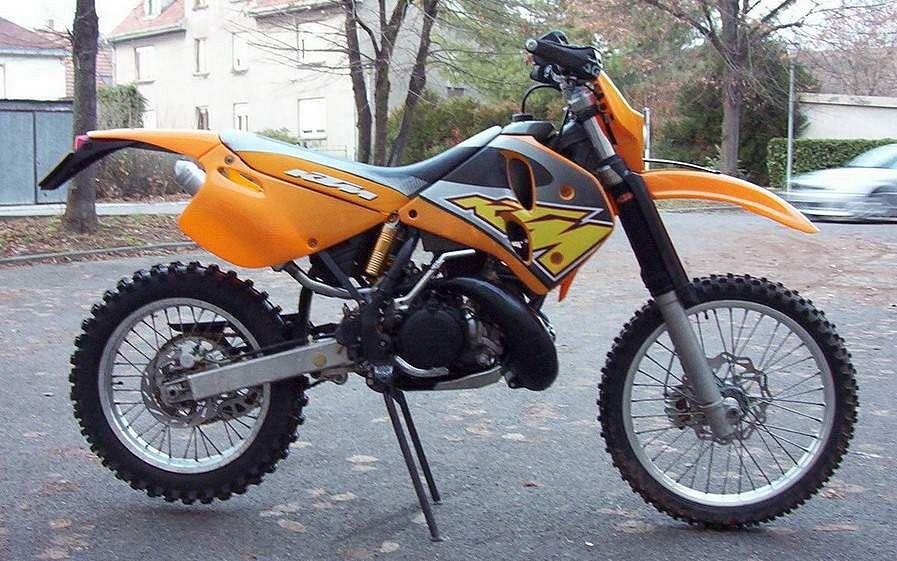 KTM 360 EXC Enduro (1997-99)