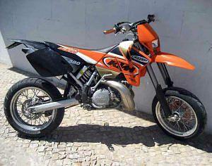 KTM 380 EXC (2000-01)
