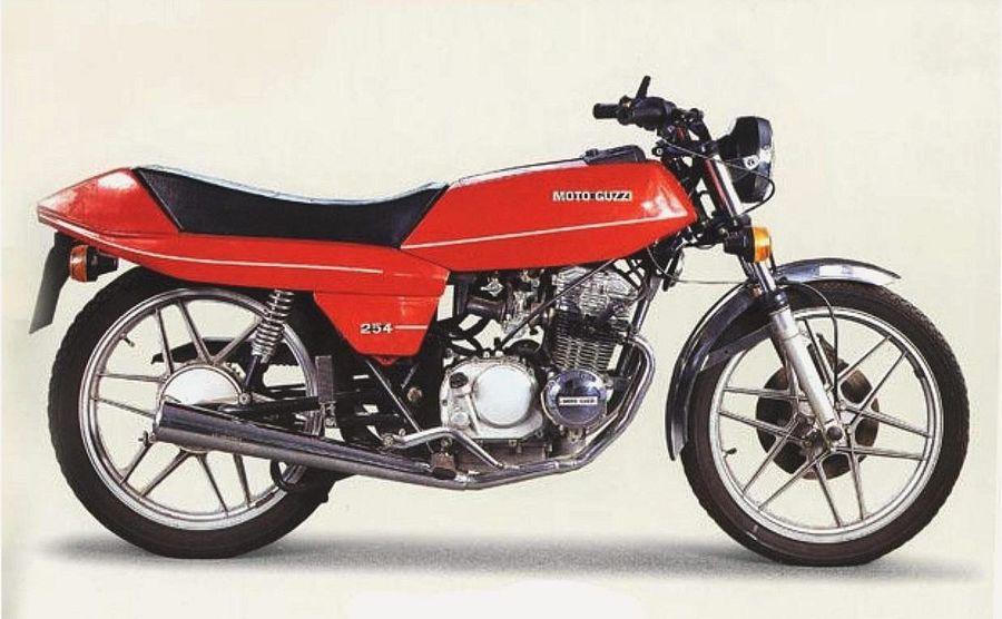 Moto Guzzi 254 (1977-81)