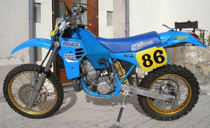 Maico Enduro 500 (1989-90) - MotorcycleSpecifications com