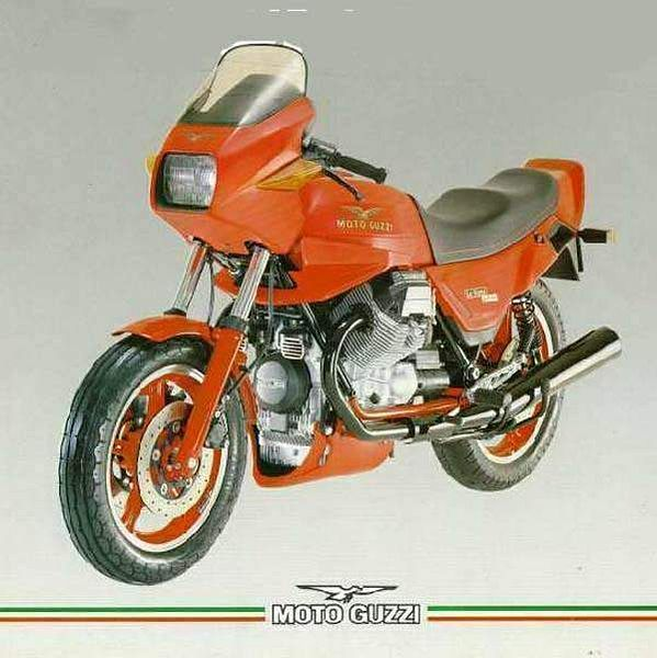Moto Guzzi 1000 Le Mans Mark IV (1984-87)