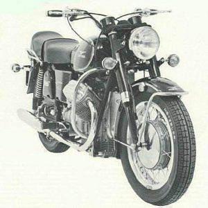 Moto Guzzi 850 Eldorado (1972)