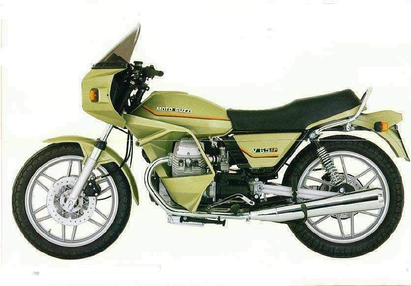 Moto Guzzi V 65SP (1979)