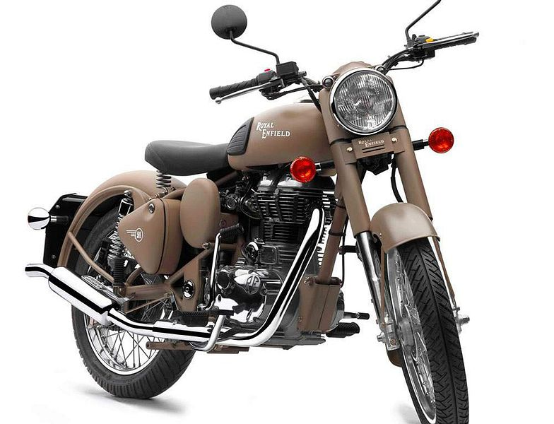 Royal Enfield Classic Satin 500 (2016)