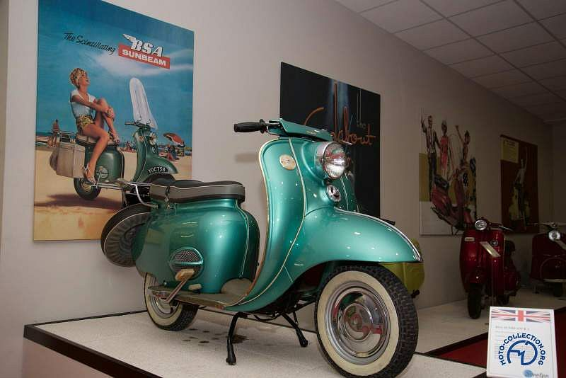 Sunbeam Model B1 scooter (1957-64)