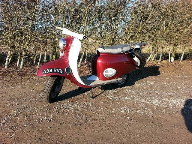 Sunbeam Model B2 scooter (1958-65)