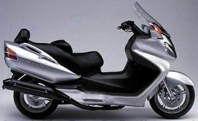 Suzuki Burgman 650 (2002-03)