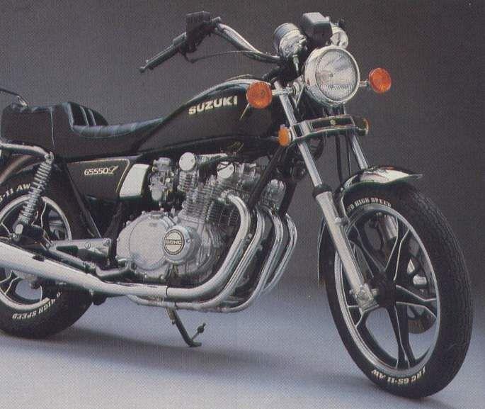 Suzuki GS550L (1982)
