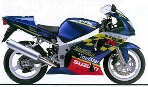 Suzuki GSX-R600 Telefonica Replica (2002)